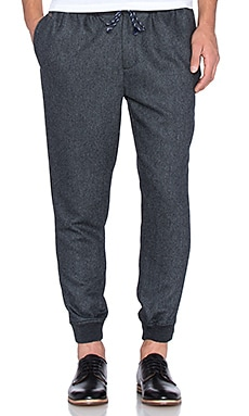Scotch & Soda Woolen Chino Pant in Grey