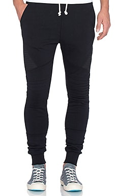 Scotch & Soda Cut & Sewn Sweatpant in Black