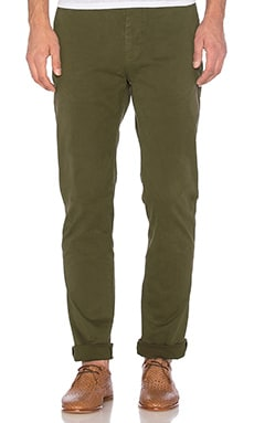 Slim Fit Chino Pant in Rifle Green