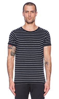 Scotch & Soda Short sleeve with Special Armhole Tee in Navy