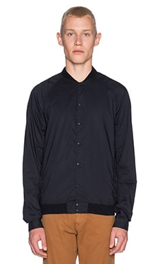 Scotch & Soda Poplin Bomber Shirt in