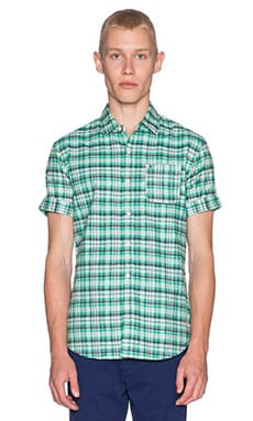 Scotch & Soda Shortsleeve Check Shirt in