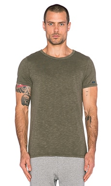 Scotch & Soda Crewneck Tee in Army