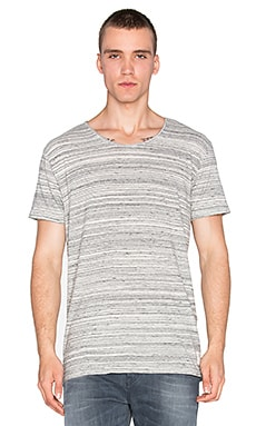 Scotch & Soda Home Alone Tee in Grey Melange