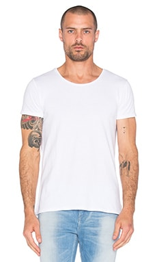 Scotch & Soda Home Alone Tee in White