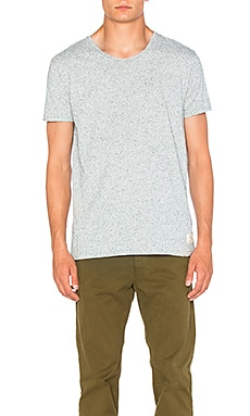 Scotch & Soda Home Alone Tee in Grey Male