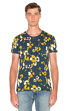Scotch & Soda Allover Print Tee in Dessin