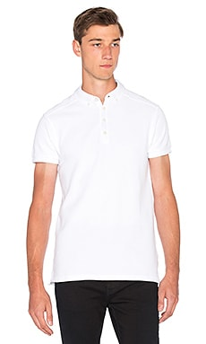 Scotch & Soda Home Alone Polo in White