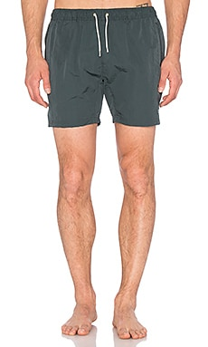 Scotch & Soda Medium Length Swimshort in Olive