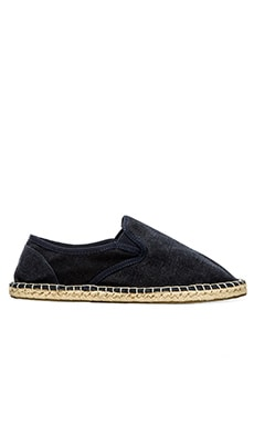 Scotch & Soda Canvas Espadrille in Midnight