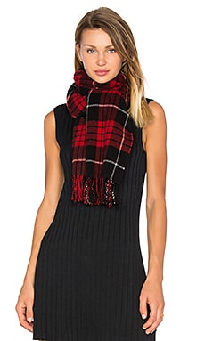 Classic Scarf in Red Plaid