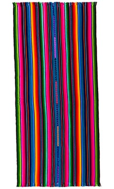 Playa Coco Beach Blanket in Multi