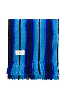 Playa Coco Beach Blanket en Bleu