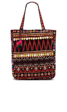 STELA 9 Devi Tote in Red Multi