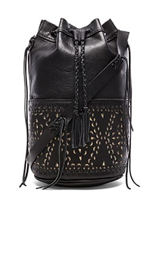 Quixote Large Bucket Bag in Black Negro