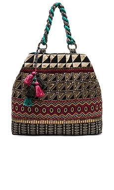 STELA 9 Shiva Tote in Turquoise