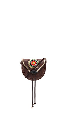 STELA 9 Beaded Tribal Crossbody in Mixed