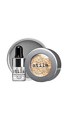 Stila Magnificent Metals Foil Finish Eye Shadow in Metallic Gilded Gold