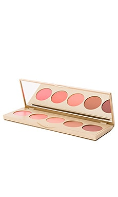 Lip & Cheek Convertible Color 5 Pan Palette en Sunset Serenade