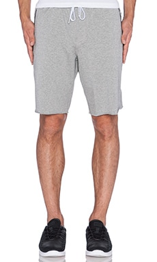 Stampd Essential Warm Up Shorts in Heather Grey