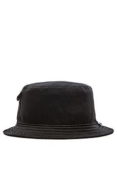 Stampd Pocket Bucket Hat in Black