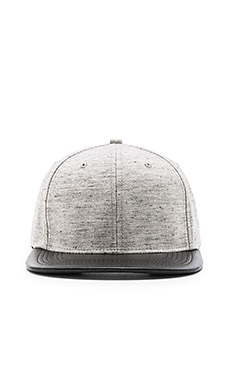 Stampd Heathered Wool Hat in Heather Grey