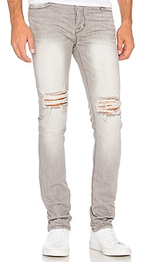 Essential Knee Split Denim