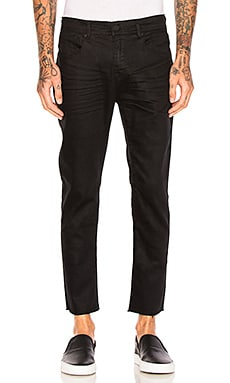 Resin Slim Fit Cropped Jeans