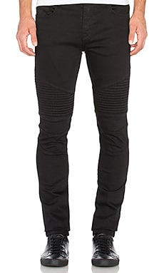 Stampd Moto Denim in Black
