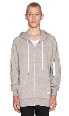 Stampd Flight Hoodie in Heather Grey