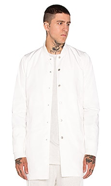 Stampd Simone Coat in White