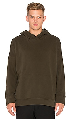 Stampd Draped Hoodie in Olive