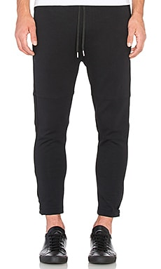 Stampd Barrier Pant in Black