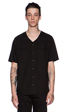 Stampd Baseball Jersey in Black