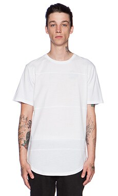 Stampd Essential Panel Tee in White