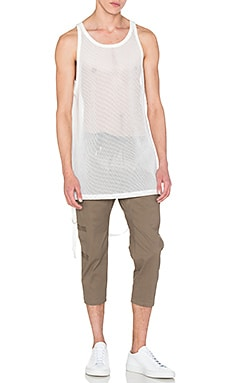 Stampd x Revolve Safari Mesh Tank in White