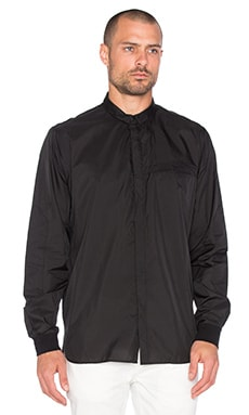 Stampd Ripstop L/S Shirt in Black
