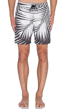 Stampd Palm Swim Trunks in Black