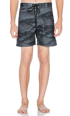 Stampd Neoprene Camo Trunk in Black