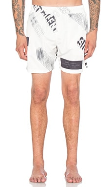Stampd Silent Dissent Trunk in White