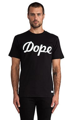 Stampd Dope Logo Tee in Black