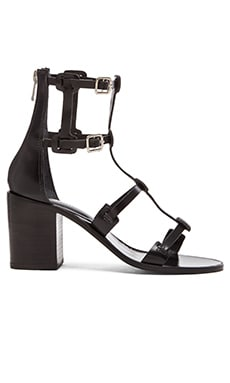 Saint & Libertine Mayfair Sandal in Black