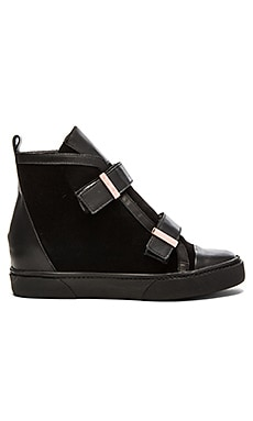 Saint & Libertine Warren Sneaker in Black