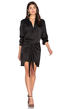 Steele Sloane Shirt Dress in Black