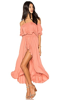 x REVOLVE Agatha Dress in Blush