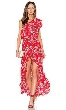 Wildflower Shoulder Dress