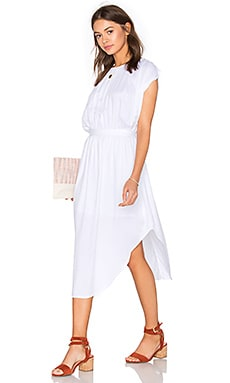 Steele Cassia Dress in White