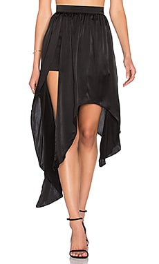 Steele Zuri Jagger Skirt in Black