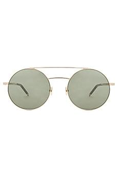 Купить Солнцезащитные очки sl 210 - Saint Laurent, Италия, Металлический золотой