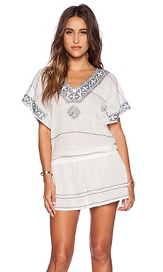 JANA EMBROIDERED DRESS